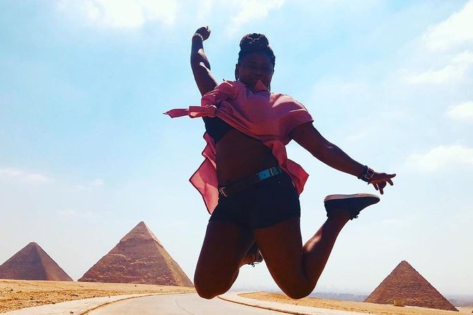 Half Day Tour Adventure for the Pyramids sphinx 45 Minutes camel Ride photo 1