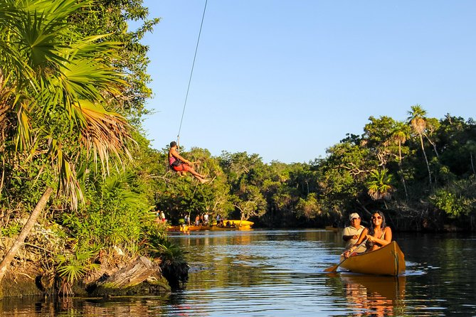 Tulum, Turtles, and Zip Lines (Private Tour)
