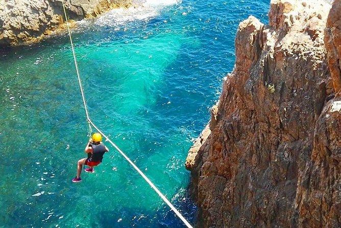 Cagliari Shore Excursion: Professional Guided Coasteering
