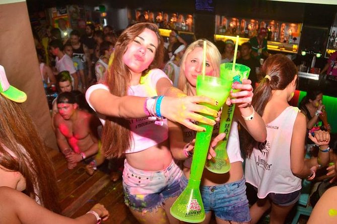 Señor Frog's Cancun: Open Bar Glow Party with Skip-the-Line Access photo 1