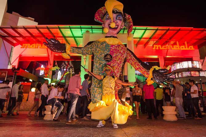 Cancun Mandala Nightclub Skip-the-Line Admission with Open Bar
