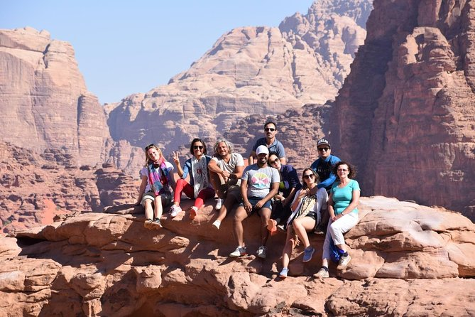 2 Day Tour: Petra, Wadi Rum, Red Sea, and Dead Sea from Amman