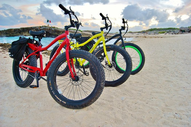 Half-Day Electric Bike Tour of Cozumel's East Side With Lunch