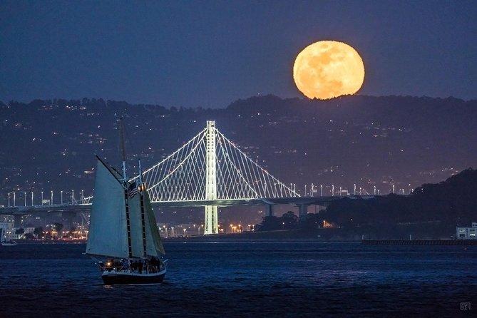 Full Moon Sail on the San Francisco Bay