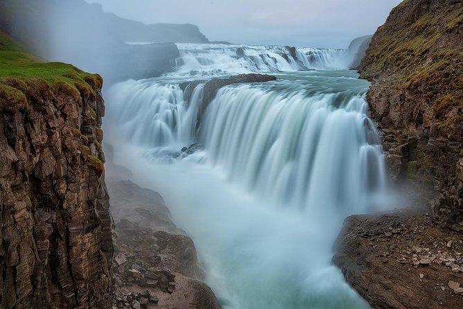 Geyser Waterfalls and Blue Lagoon Day Tour from Reykjavik