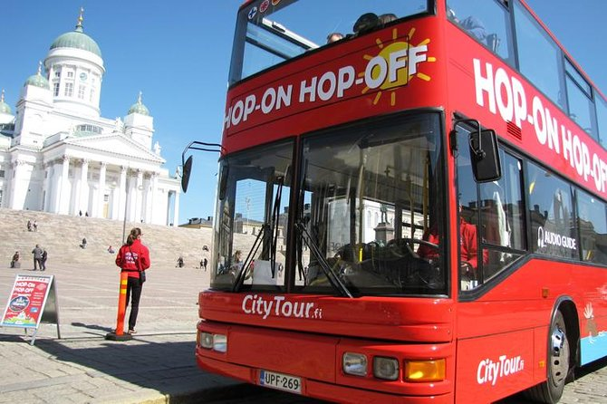 Red Sightseeing Helsinki Hop-On Hop-Off Bus