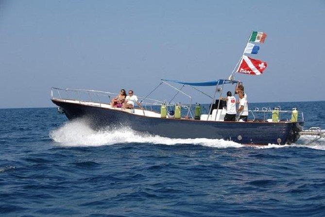 Excursão de barco para Paestum
