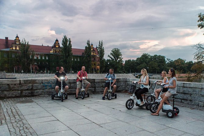 The Classic E-Scooter (3 wheeler) Tour of Wroclaw - everyday tour at 6:30 pm photo 7