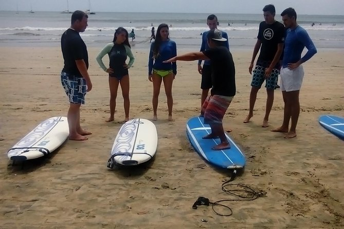 2 Hour Surf Lessons at Tamarindo Beach photo 1