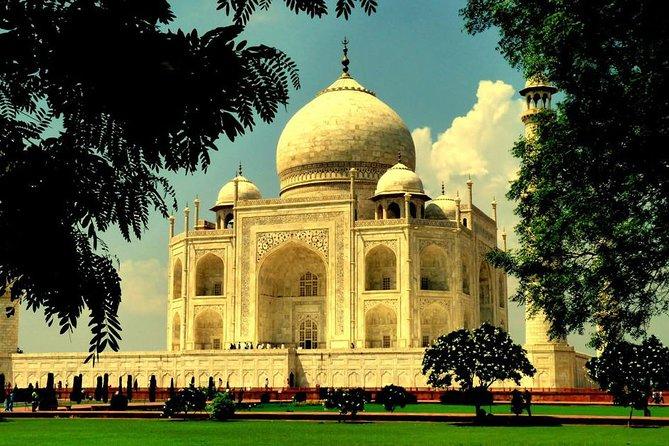 Agra Tajmahal Tour by Gatimaan Express- super fast Train one day Tajmahal Tour