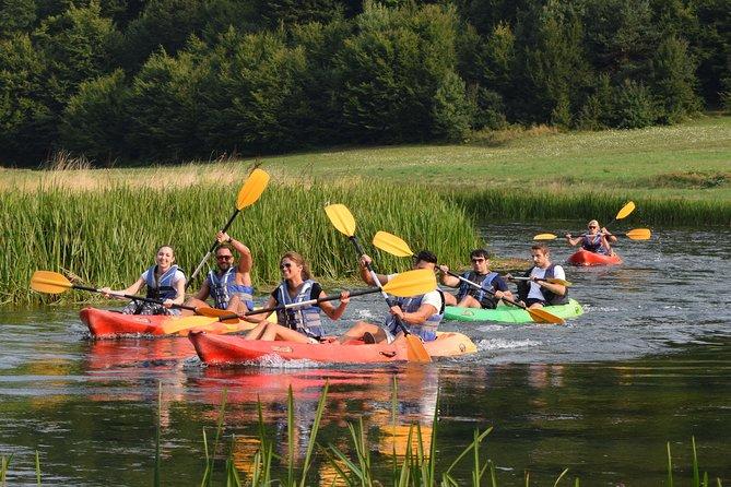 Kayak on the Gacka River