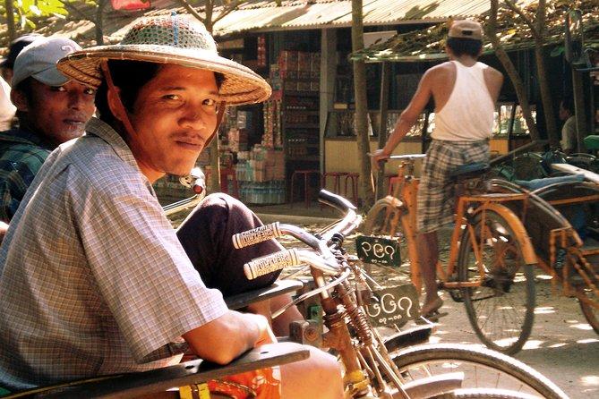 Privat Halvdags Tour of Mandalay af Trishaw
