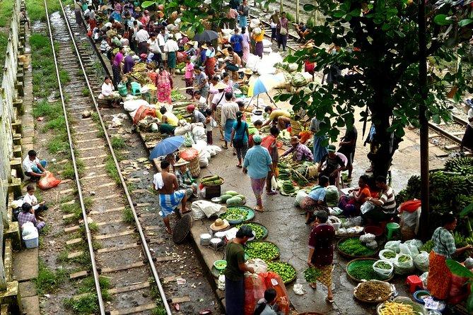 Half-Day Traditional Market Tour by Yangon Circular Train
