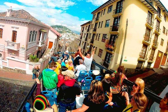 Excursão com várias paradas na cidade de Quito