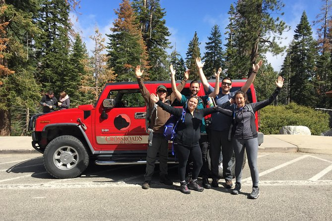 Hummer 4 X 4 Tour of Yosemite - met Hotel Pickup!