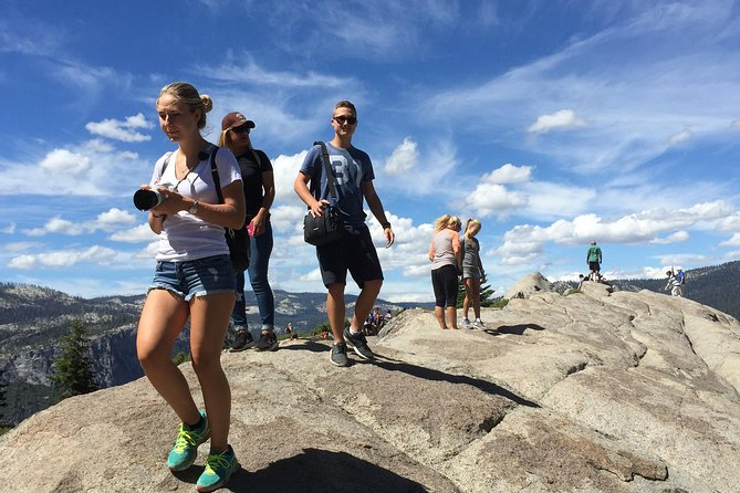 Hiking on Glacier Point
