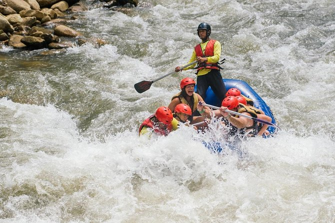 White-water Rafting with Ziplining in Phangnga
