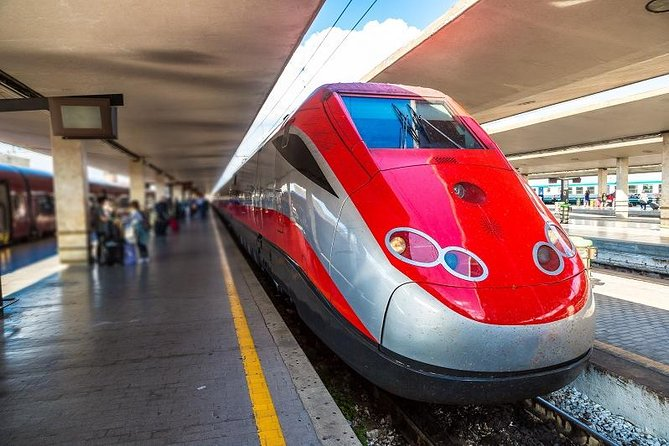 Fast Train E-Tickets from Venice to Milan, Rome, Florence, Naples