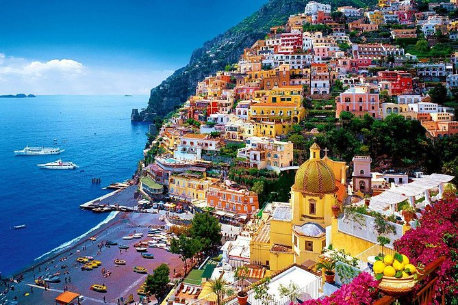 Amalfi Coast with Wine Tasting - Private Driving Tour from Rome