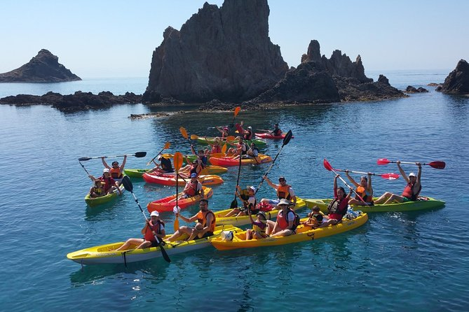 Kayak and Snorkel Tour of Cabo de Gata in Andalucia