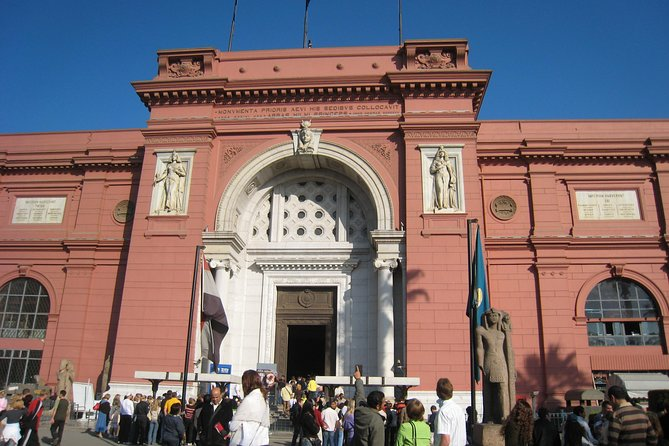 Private Guided Half-Day Tour: Egyptian Museum in Cairo