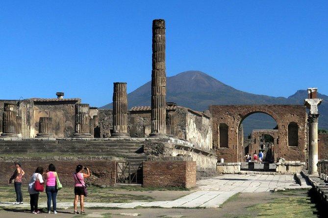 Day Trip from Naples: Pompeii and Mount Vesuvius