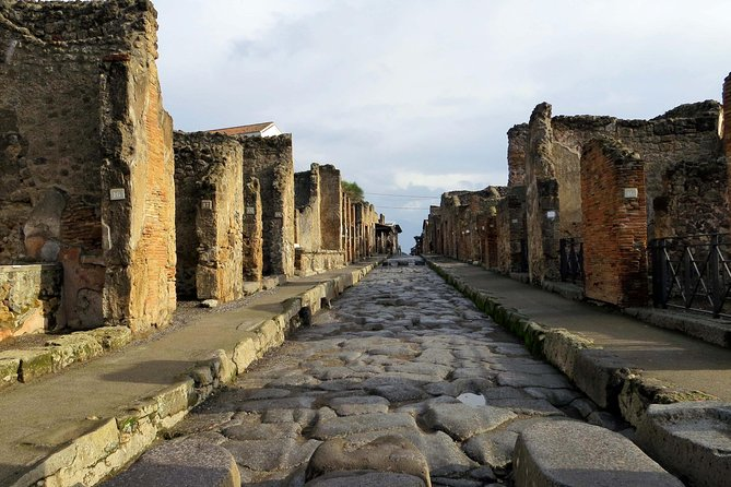 Shared Shore Excursion from Salerno to Pompeii Ruins with skip the line