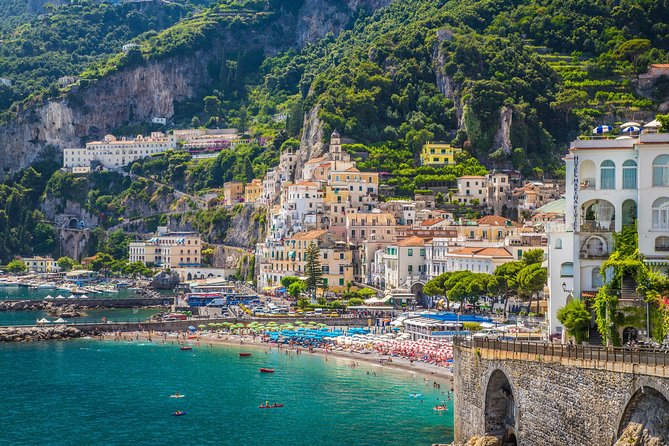 Sorrento, Positano, and Amalfi Day Trip from Naples