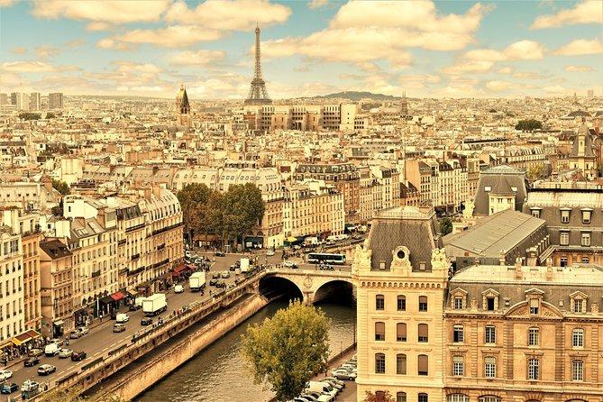 Paris Tagestour mit Mittagessen: Ile de la Cité, Montparnasse-Turm und Hop-on-Hop-off-Bus