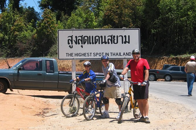 Biking Above Thailand