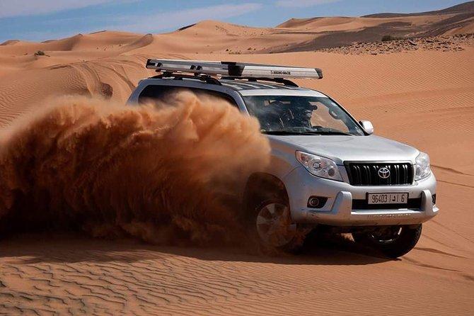 Excursion privée de 3 jours au Maroc depuis Agadir vers Erg Chegaga Dunes