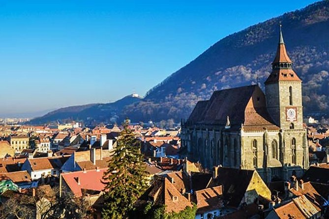 Brasov with its Black Church