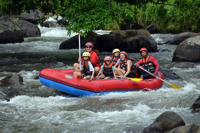 Amazing Ayung River Adventure Rafting-Include Private Transport And Lunch