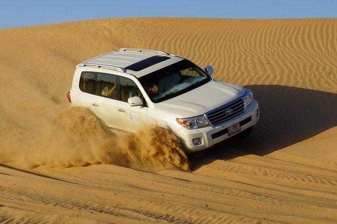 Deslumbrante safari por el desierto, incluida la cena de barbacoa desde Dubai