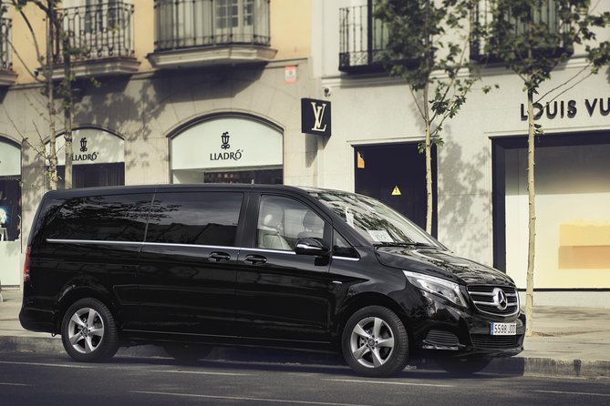 Arrival Private Transfer Luxury Van LIN airport to Milan