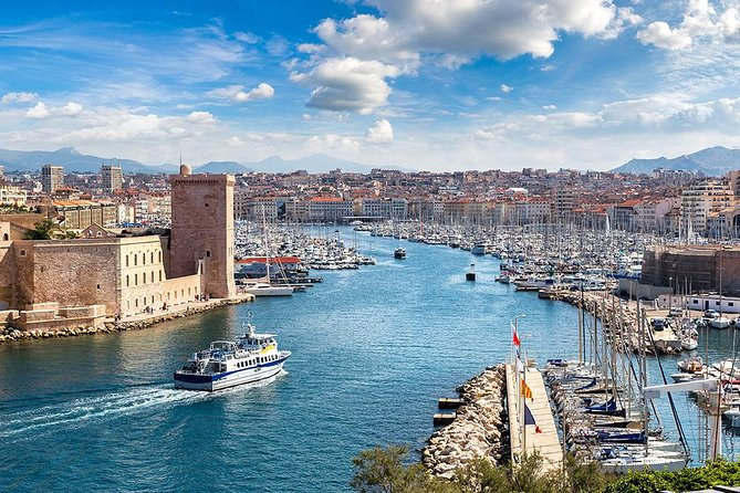 Marseille City Private Tour from Marseille Cruise Port or Hotel by Luxury Van