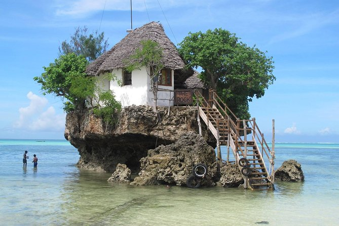 The Rock Restaurant & Blue Lagoon Half Day Tour in Zanzibar