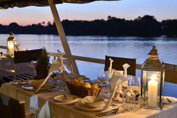 Dinner Cruise on the Zambezi River, Victoria Falls