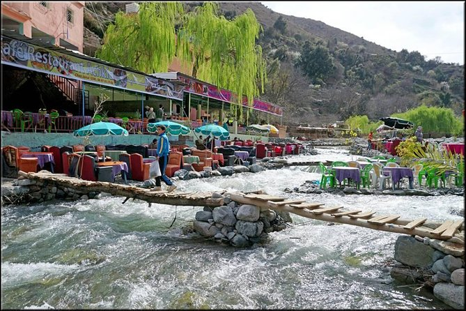 Private day trip to Ourika valley and Atlas Mountains