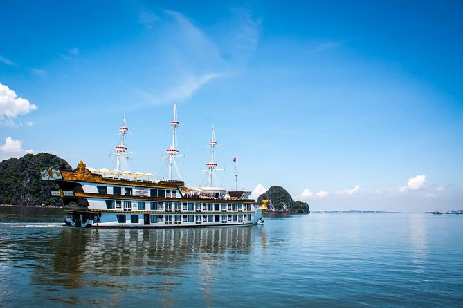 Dragon Legend Halong Bay 3-Day-2-Night Cruise from Hanoi