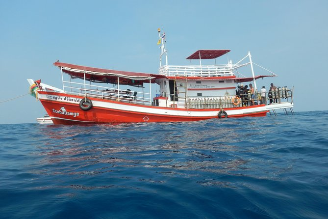 Full Day Dive Adventure in National Marine Park Koh Rang including 2 Dives and Lunch