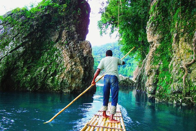 Blue Lagoon Monkey Island And Rio Grande Rafting Tour