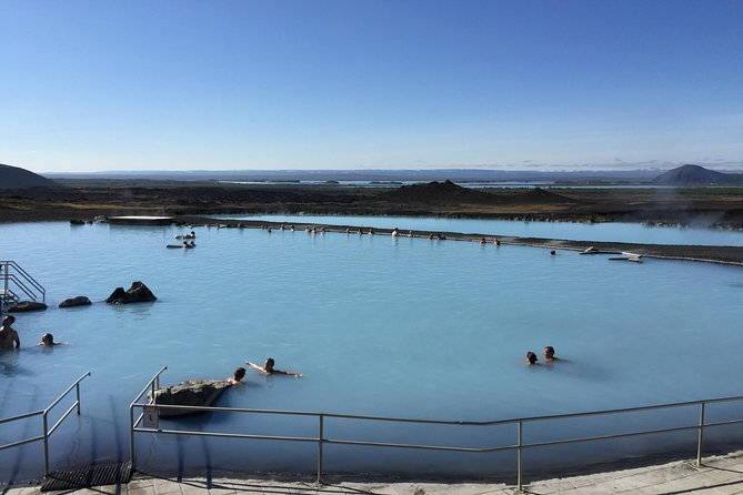 Biking Tour and Myatn Nature Baths from Reykjahlid