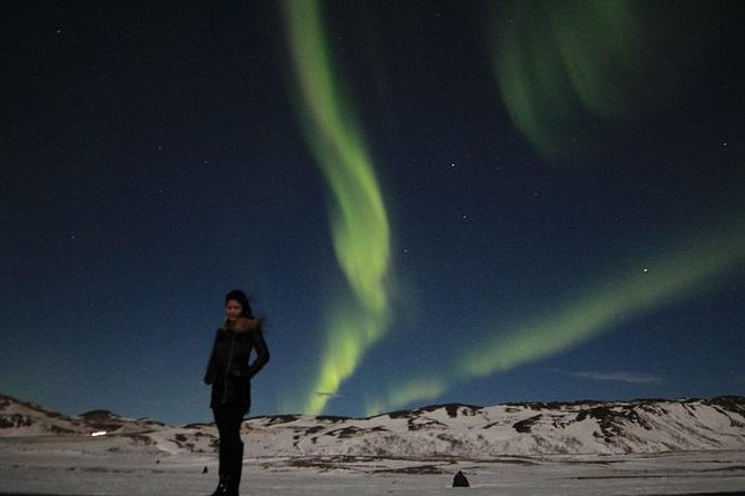 Northern Lights Hunt in the Myvatn Area of Northern Iceland