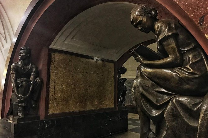 Private Moscow Metro Tour: explore the underground palaces