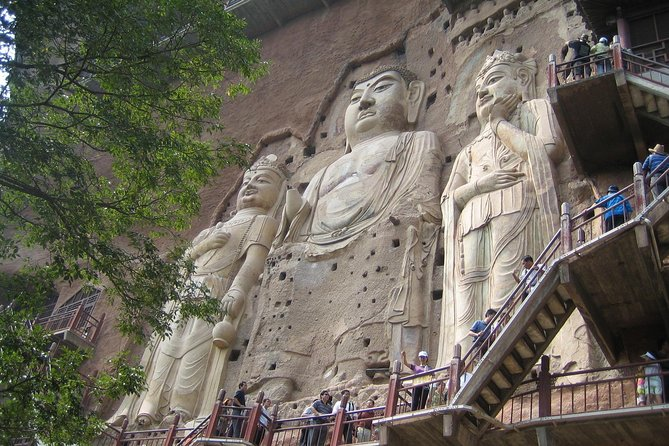 Private Tianshui Day Tour to Maiji Mountain Grottoes and Fuxi Temple with Lunch