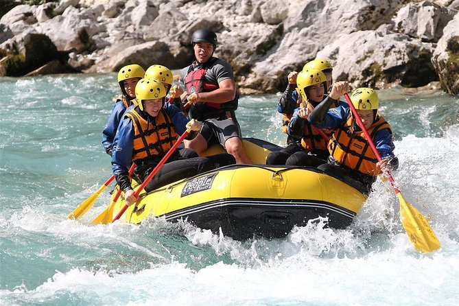 Emerald river Soca adrenalin - rafting day tour