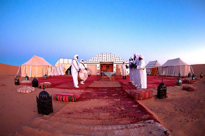 3 Days Luxury Tour to Fes from Marrakech with Night in Erg Chebbi