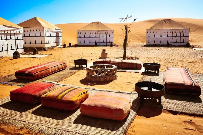 2 Days Private Fes Desert Tour with one Overnight in Luxury Desert Camp