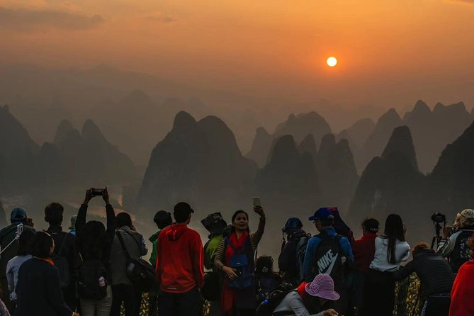 Half-Day Yangshuo Xianggong Mountain Sunrsie Private Tour from GUILIN hotel